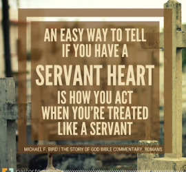 How to Tell If You Have A Servant's Heart