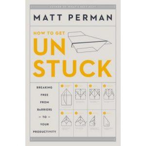How to Get Unstuck Book