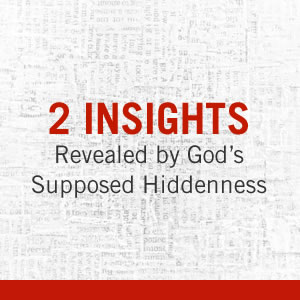 What evidence do we have for God's existence?