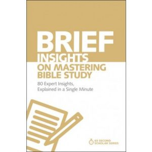Mastering a Bible Study