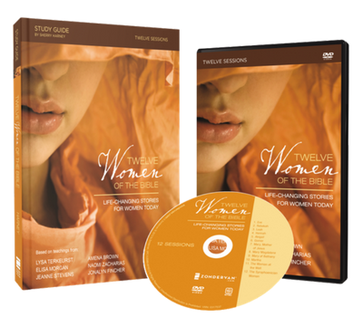 Twelve Women of the Bible DVD and Study Guide Pack by Lysa TerKeurst