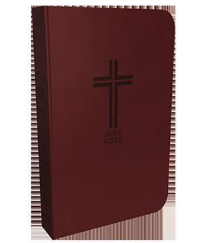 KJV, Reference Bible, Compact, Large Print, Comfort Print