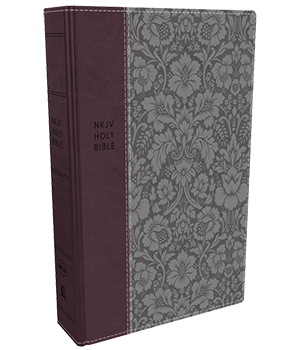 NKJV, Deluxe Reference Bible, Compact Large Print, Comfort Print