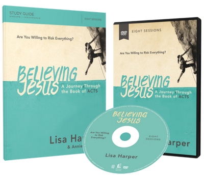 Believing Jesus DVD and Study Guide Pack by Lisa Harper