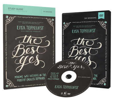 The Best Yes DVD and Study Guide Pack by Lysa TerKeurst