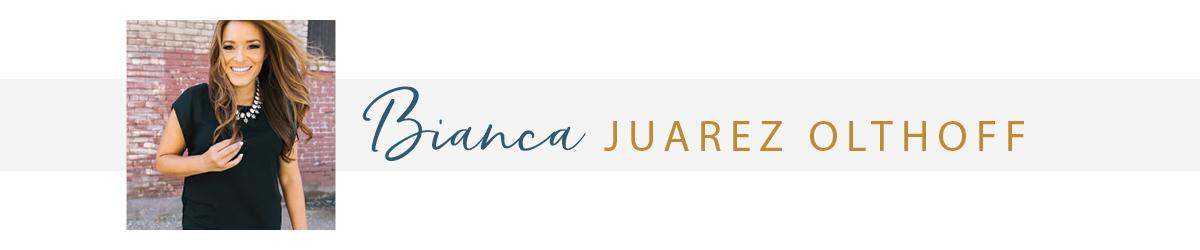 Author Bianca Juarez Olthoff
