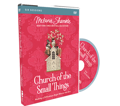 Church of the Small Things Video Study DVD by Melanie Shankle