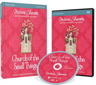 Church of the Small Things DVD and Study Guide Pack by Melanie Shankle