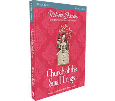 Church of the Small Things Study Guide by Melanie Shankle