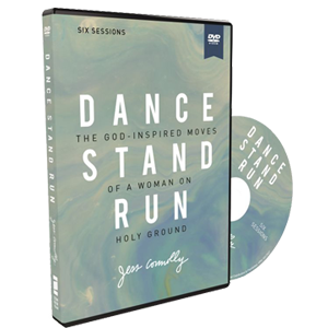 Dance, Stand, Run Video Study DVD by Jess Connolly