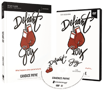 Defiant Joy DVD and Study Guide Pack by Candace Payne