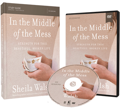 In the Middle of the Mess DVD and Study Guide Pack by Sheila Walsh