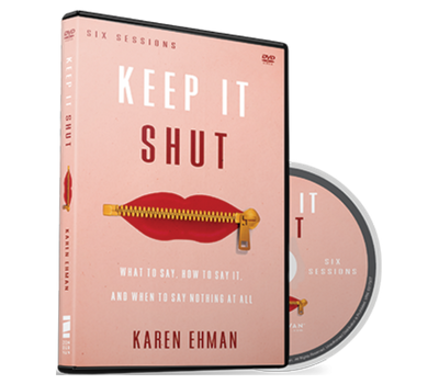 Keep It Shut Video Study DVD by Karen Ehman