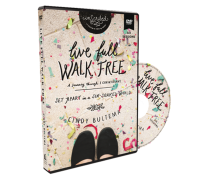 Live Full, Walk Free Video Study DVD by Cindy Bultema