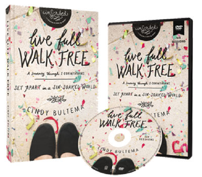 Live Full, Walk Free DVD and Study Guide by Cindy Bultema