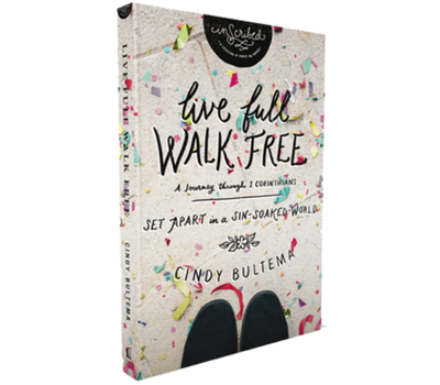 Live Full, Walk Free Book and Guide by Cindy Bultema