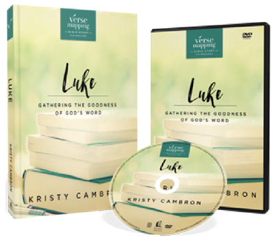 Verse Mapping Luke DVD and Study Guide Pack by Kristy Cambron
