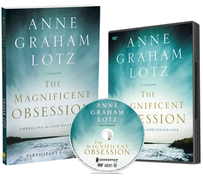 The Magnificent Obsession DVD and Study Guide Pack by Anne Graham Lotz