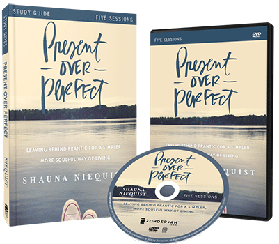 Present Over Perfect DVD and Study Guide Pack by Shauna Niequist