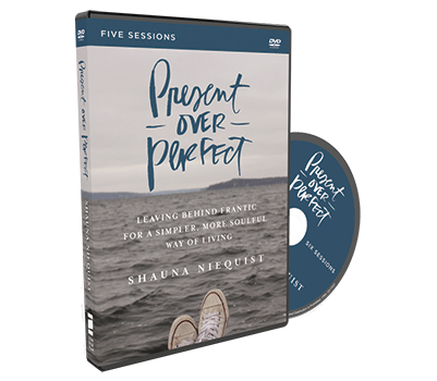 Present Over Perfect Video Study DVD by Shauna Niequist
