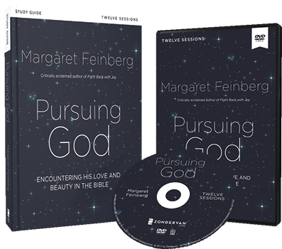 Pursuing God DVD and Study Guide Pack by Margaret Feinberg