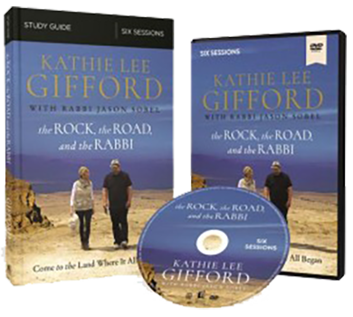The Rock, The Road, and The Rabbi DVD and Study Guide Pack by Kathie Lee Gifford