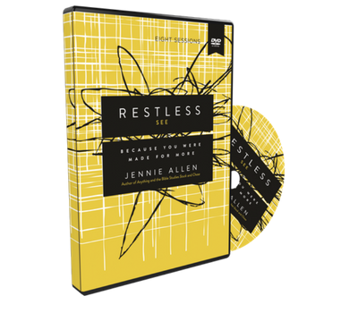Restless Video Study DVD by Jennie Allen