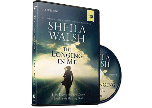 The Longing in Me Video Study DVD by Sheila Walsh