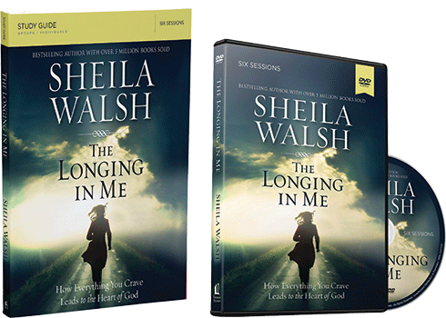 The Longing in Me DVD and Study Guide Pack by Sheila Walsh