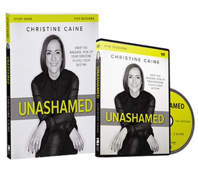 Unashamed DVD and Study Guide Pack by Christine Caine