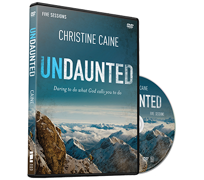 Undaunted Video Study and DVD by Christine Caine