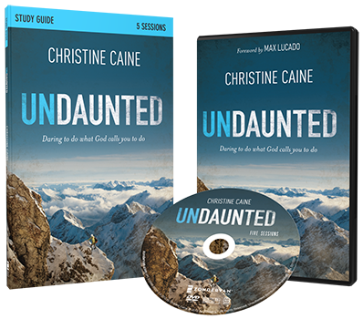 Undaunted DVD and Study Guide Pack by Christine Caine