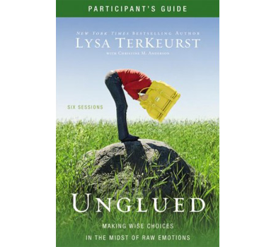 Unglued DVD and Participant's Guide Pack by Lysa TerKeurst