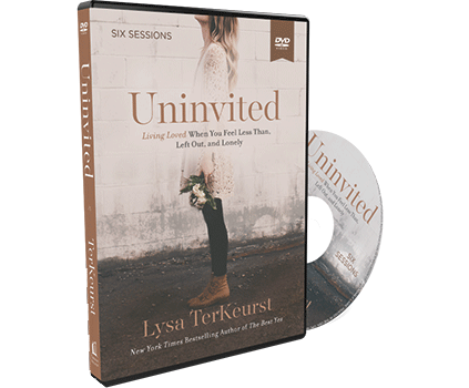 Uninvited Video Study DVD by Lysa TerKeurst