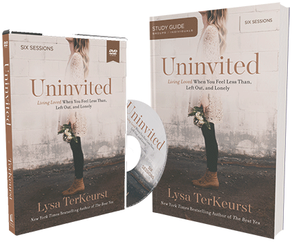 Uninvited DVD and Study Guide Pack by Lysa TerKeurst