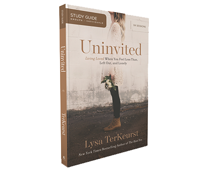 Uninvited Study Guide by Lysa TerKeurst