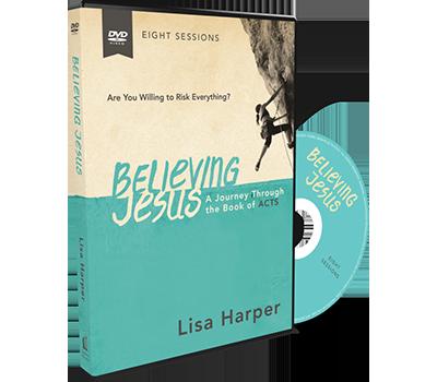 Believing Jesus Video Study DVD by Lisa Harper