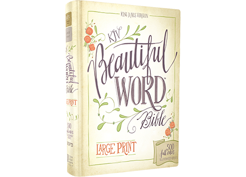 KJV, Beautiful Word Bible, Large Print