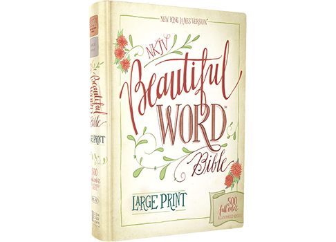 NKJV, Beautiful Word Bible, Large Print