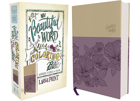 NIV, Beautiful Word Coloring Bible, Large Print
