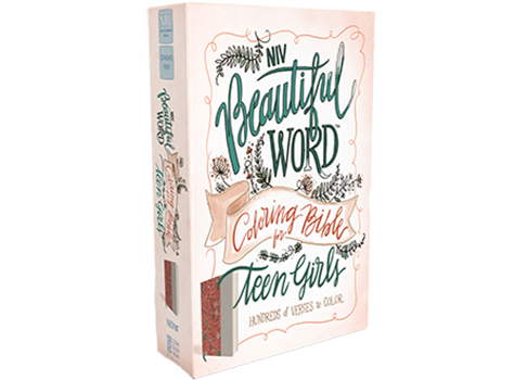 NIV, Beautiful Word Coloring Bible for Teen Girls