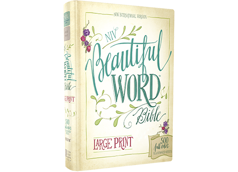 NIV, Beautiful Word Bible, Large Print