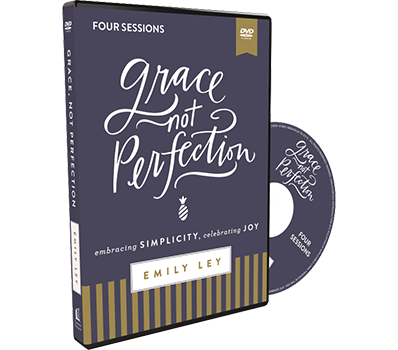 Grace Not Perfection Video Study DVD by Emily Ley