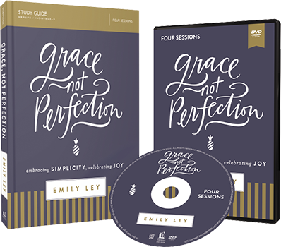 Grace Not Perfection DVD and Study Guide Pack by Emily Ley