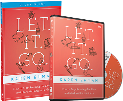 Let. It. Go. DVD and Study Guide Pack by Karen Ehman