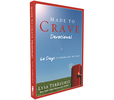 Made to Crave Devotional by Lysa TerKeurst