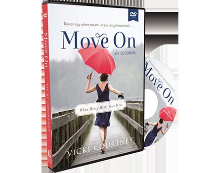 Move On Video Study DVD by Vicki Courtney