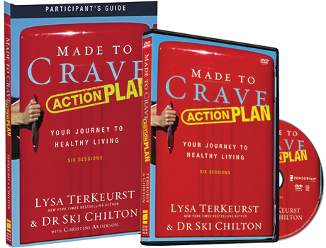 Made to Crave Action Plan DVD and Study Guide Pack by Lysa TerKeurst