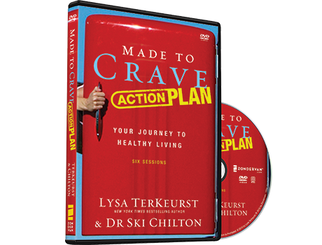 Made to Crave Action Plan Video Study DVD by Lysa TerKeurst