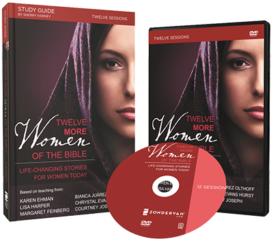 Twelve More Women of the Bible DVD and Study Guide Pack by Sherry Harney and Karen Ehman